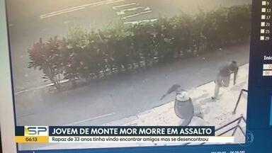 Homem morre baleado em tentativa de assalto em Alto de Pinheiros, na Zona Oeste de SP - Crime aconteceu em frente a padaria na manhã deste domingo (26).
