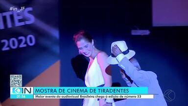Festival de Cinema de Tiradentes encanta amantes do audiovisual - Maior evento de cinema do país é realizado na cidade, até dia 1 de fevereiro.