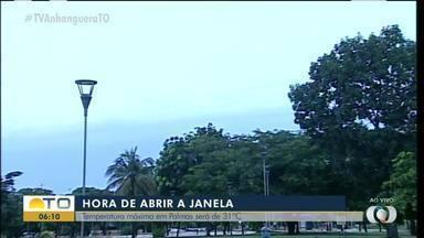 Confira imagens do céu de Palmas nesta segunda-feira (27) - Confira imagens do céu de Palmas nesta segunda-feira (27)
