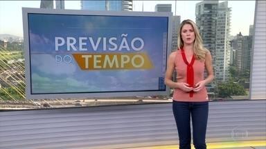 Previsão de chuva menos volumosa para parte do Sudeste - Chove menos em Minas e no Espírito Santo, mas o risco de deslizamento e alagamento é alto. Em São Paulo o tempo fica firme. Pode chover em quase todo o Norte, Nordeste e Centro-Oeste.