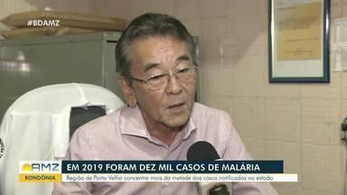 Porto Velho teve mais de 10 mil casos de malária em 2019 - Porto Velho teve mais de 10 mil casos de malária em 2019