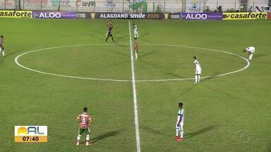 Veja os melhores momentos de Coruripe 1 x 1 CSE - Partida foi realizada no Estádio Gerson Amaral