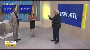 Ivo Amaral comenta os destaques do esporte paraense nesta segunda-feira (27) - Ivo Amaral comenta os destaques do esporte paraense nesta segunda-feira (27)