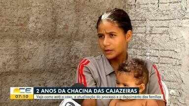 Chacina das Cajazeiras completa dois anos - Saiba mais em g1.com.br/ce
