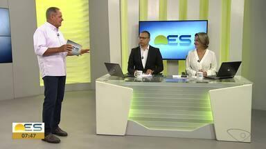 Comentarista esportivo Paulo Sérgio fala sobre o que foi destaque no final de semana - A morte de Kobe Bryant e de sua filha Gianna é um dos destaques.