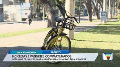 Ausência de bikes e patinetes compartilhados divide opiniões em São José - Empresa deixou de operar na cidade na última semana.
