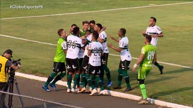 Coritiba vence Paraná no primeiro clássico do ano - Gol do Coxa foi marcado por Thiago Lopes