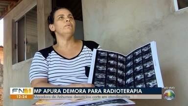 MP apura demora em atendimentos para sessões de radioterapia em Anhumas - Promotoria quer saber se verba destinada aos pacientes com câncer tem sido suficiente.
