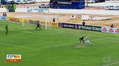 Náutico vence o Petrolina com gol no final do segundo tempo - O Petrolina perdeu a segunda no Campeonato Pernambucano. Neste domingo, jogando em casa, no estádio Paulo Coelho, a Fera Sertaneja tomou 1 a 0 do Náutico.