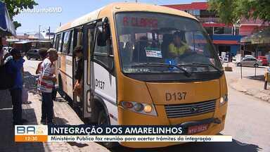 Governo faz reunião para definir integração dos 'Amarelinhos' com outros ônibus e metrô - A definição dos trâmites acontece nesta segunda-feira (27).