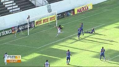 Afogados goleia o Decisão e assume a liderança do Campeonato Pernambucano - O meia Candinho foi o craque do jogo, fez um gol e deu assistência para os outros três.