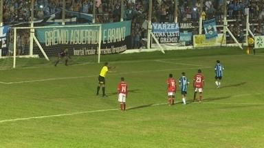 Grenal no Efipan termina com Grêmio vitorioso - Tricolor venceu o internacional por dois a zero.