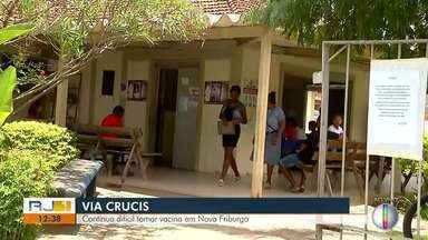 Moradores sofrem com dificuldade na vacinação contra o sarampo, em Nova Friburgo, no RJ - Situação causa indignarão nos moradores.