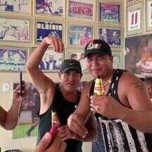 Aloísio Chulapa recebe Muricy Ramalho em Atalaia - em comemoração ao aniversário de 45 anos do alagoano