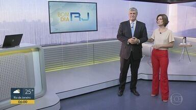 Bom dia Rio - Edição de terça-feira, 28/01/2020 - As primeiras notícias do Rio de Janeiro, apresentadas por Flávio Fachel, com prestação de serviço, boletins de trânsito e previsão do tempo.