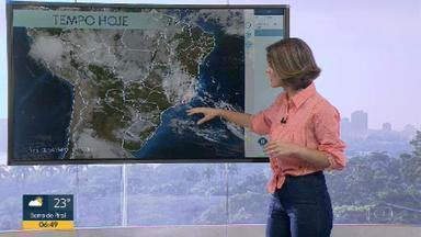 Confira a previsão do tempo para a terça-feira (29) - Calor e umidade trazem nuvens para o Estado.