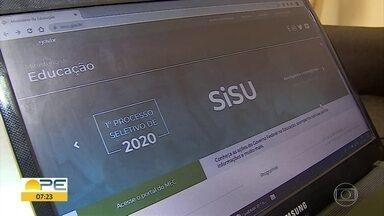Inscritos no Sisu podem checar resultado para ingresso em universidades públicas - Divulgação do resultado foi liberada na terça-feira (28).