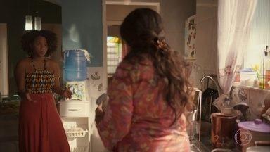 Lurdes conversa com Camila sobre Magno - Ela conta que procurou Sandro para pedir ajuda a Magno na prisão