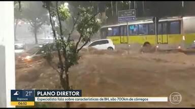 Belo Horizonte tem 700 km de córregos; especialista comenta características da cidade - Rios são canalizados e 'invisíveis'.