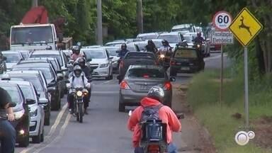 Confira a situação do trânsito na região noroeste paulista - Confira a situação do trânsito na região noroeste paulista