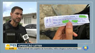 Polícia prende seis suspeitos de homicídios, tráfico de drogas e outros crimes - Confira os detalhes com a repórter Zuíla David.