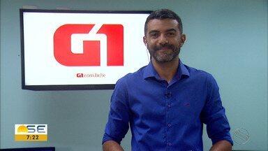 Confira os destaques do G1 Sergipe - Confira os destaques do G1 Sergipe.