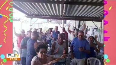 Moradores enviam vídeos cantando marchinhas que marcaram suas vidas - Envie sua gravação através do WhatsApp (24) 99313-9599.