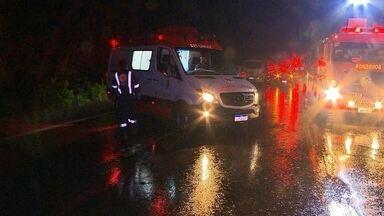 Ônibus com torcedores do Pelotas sofre acidente em Erechim - 28 pessoas foram encaminhadas para hospitais da região.