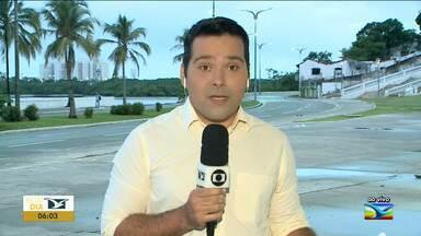 São Luís tem mais de 80% de chuva em janeiro - Segundo a meteorologia, do mês de Janeiro até 12h de quinta-feira (30), choveu 389,2 mm.
