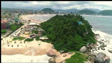 Verão RPC - Meio-dia Paraná, ao vivo, da Praia de Caiobá.