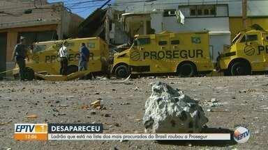 Polícia procura acusado de comandar assalto à empresa de transporte de valores em Ribeirão - Diego Moura Capistrano, de Viradouro (SP), é um dos criminosos mais procurados do Brasil.