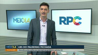 UBS do Palmeiras é fechada para mudança de prédio - Atendimento volta ao normal na próxima quinta-feira (6).