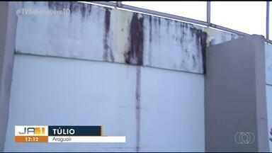 Corpo de Bombeiros aponta que estádio em Araguaína está irregular - Corpo de Bombeiros aponta que estádio em Araguaína está irregular