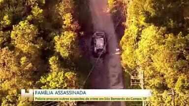 Justiça decreta sigilo na investigação da morte de uma família no ABC Paulista - Um casal e o filho adolescente foram encontrados carbonizados no porta-malas do carro da família. Para a polícia, a filha mais velha do casal e a namorada dela participaram do crime.