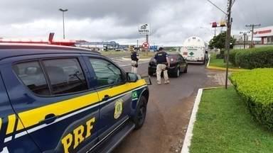 Polícia realiza operação para manter segurança e combater crimes em Vacaria - Já no primeiro dia um homem foi preso por porte ilegal de arma de fogo.