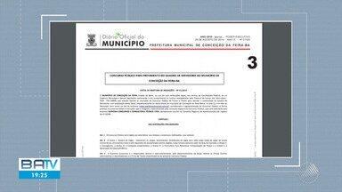 Processo seletivo para Prefeitura de Conceição da Feira tem indícios de fraude - MP recomenda suspensão do concurso.
