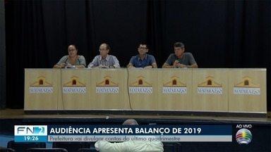 Audiência apresenta balanço financeiro de Presidente Prudente dos últimos meses de 2019 - População foi convidada a participar da reunião pública.