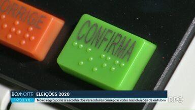 Nova regra para a escolha dos vereadores começa a valer nas eleições de outubro - Tribunal Regional Eleitoral deu coletiva para falar sobre as mudanças nas eleições 2020.