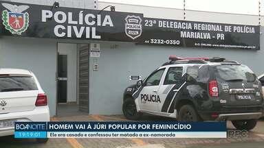 Homem vai à júri acusado de feminicídio - Ele confessou ter matado a ex com 40 facadas