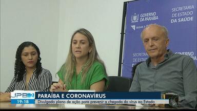 JPB2JP: Divulgado plano de ação para prevenir a chegada do Coronavírus à Paraíba - Leitos reservados em 3 hospitais.