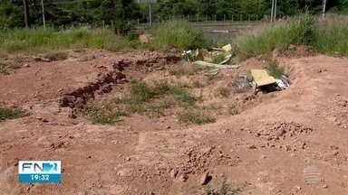 Sítio paleontológico é transformado em depósito de lixo - Local fica em Presidente Prudente.
