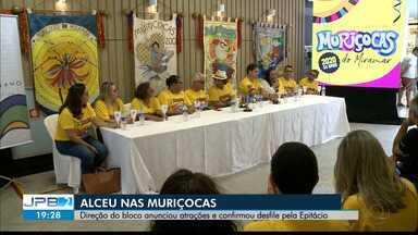 JPB2JP: Alceu Valença nas Muriçocas do Miramar - Direção do bloco anunciou atrações e confirmou desfile pela Epitácio.