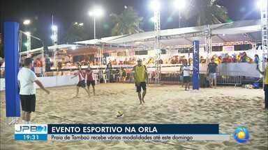 JPB2JP: Praia de Tambaú recebe várias modalidades esportivas até este domingo - Opção de lazer na Orla.