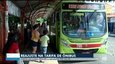 Passageiros reclamam de aumento da passagem de ônibus e qualidade do serviço - Passageiros reclamam de aumento da passagem de ônibus e baixa qualidade do serviço