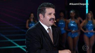 Arnaldo Taveira se apresenta como Apóstolo Arnaldo no 'Quem Chega Lá' - Confira a apresentação do figuraça
