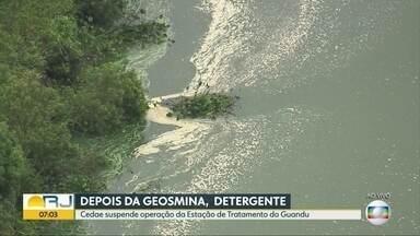 Especialista analisa abastecimento de água na Estação de Tratamento Guandu - Paulo Canedo, professor Coppe/UFRJ analisa problema de abastecimento de água na Cedae. Octávio Guedes comenta sobre o assunto.