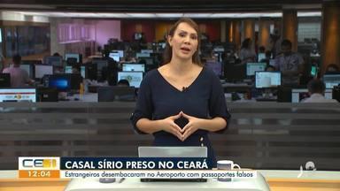 Casal da Síria é preso com passaportes falsos no Ceará - Saiba mais no g1.com.br/ce