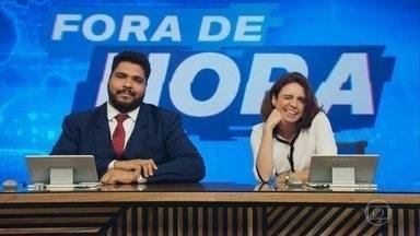 Programa de 04/02/2020 - Ancorado pelos atores Paulo Vieira e Renata Gaspar, o humorístico pretende ressignificar as imagens e discursos do noticiário com todas as sátiras e paródias de assuntos reais que couberem em um telejornal surreal.