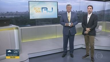 Bom dia Rio - Edição de quarta-feira, 05/02/2020 - As primeiras notícias do Rio de Janeiro, apresentadas por Flávio Fachel, com prestação de serviço, boletins de trânsito e previsão do tempo.