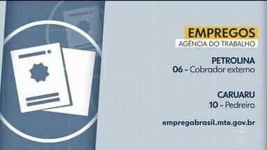 Confira vagas disponíveis na Agência do Trabalho - Há oportunidades de emprego em Escada, Recife e outras cidades.